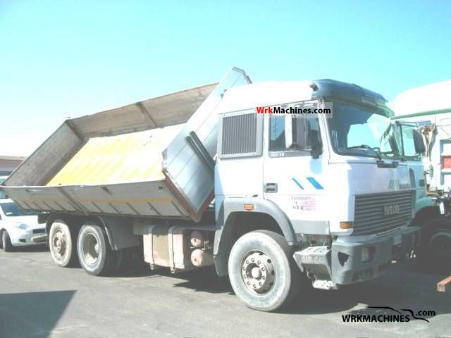1985 IVECO TurboStar 190-42 Truck over 7.5t Three-sided Tipper photo