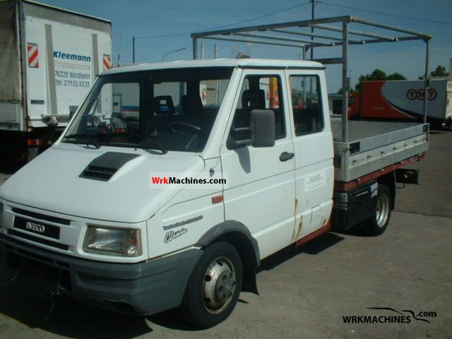 1999 IVECO Daily I 35-10 Van or truck up to 7.5t Stake body and tarpaulin photo
