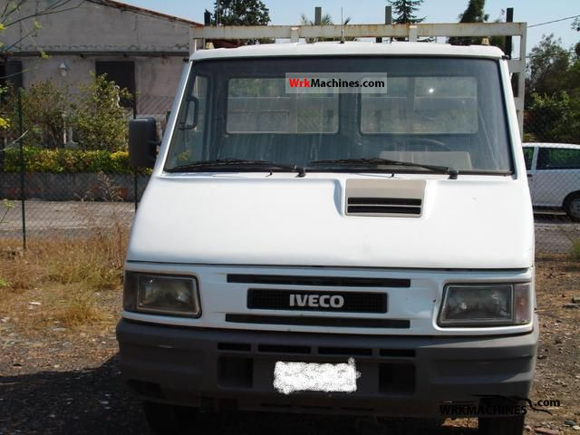 1989 IVECO Daily I 35-10 Van or truck up to 7.5t Box photo