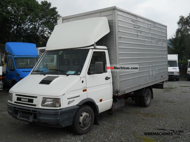 1998 IVECO Daily I 35-12 Van or truck up to 7.5t Box photo