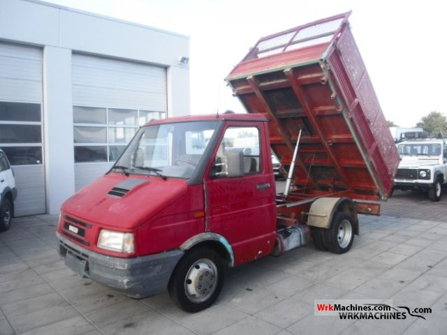 1995 IVECO Daily I 40-10 Van or truck up to 7.5t Tipper photo