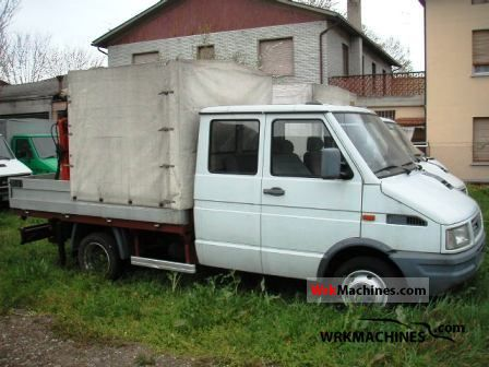 1992 IVECO Daily I 35-8 Van or truck up to 7.5t Stake body and tarpaulin photo