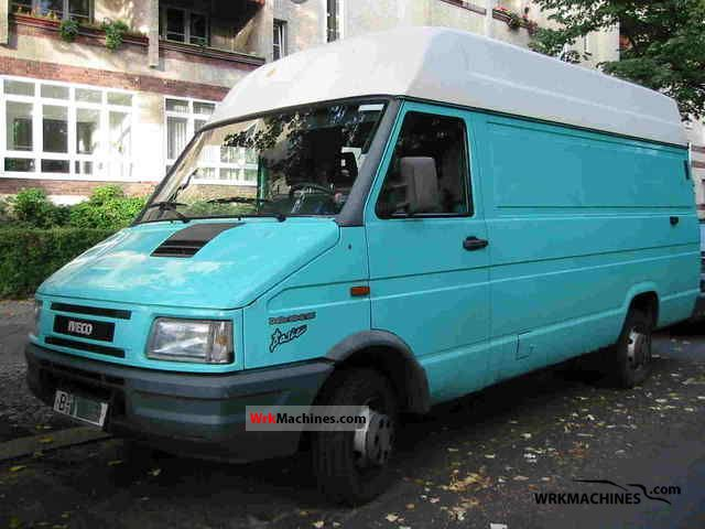 1996 IVECO Daily I 30-8 Van or truck up to 7.5t Box-type delivery van - high and long photo