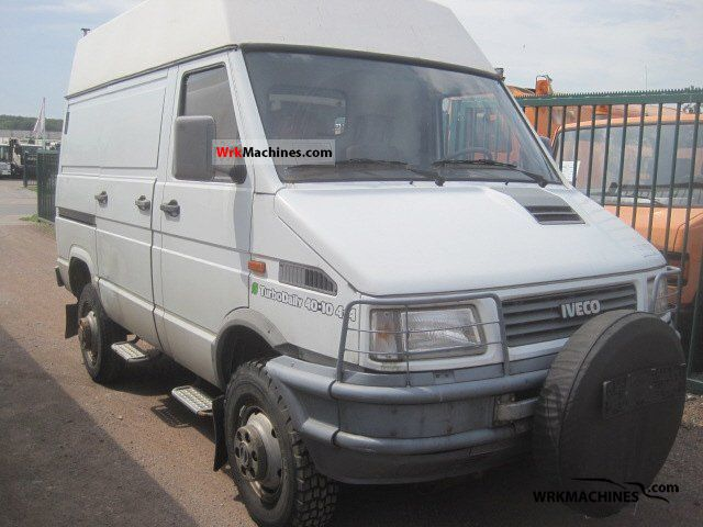 1995 IVECO Daily I 40-10 Van or truck up to 7.5t Box-type delivery van photo