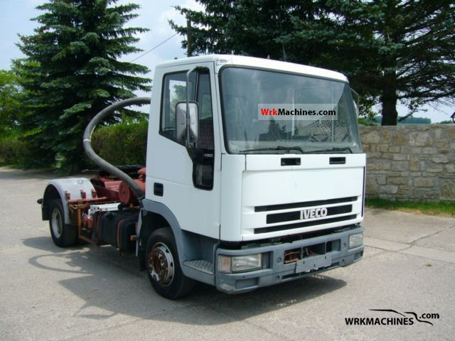 1995 IVECO EuroCargo 80 E 21 Semi-trailer truck Standard tractor/trailer unit photo