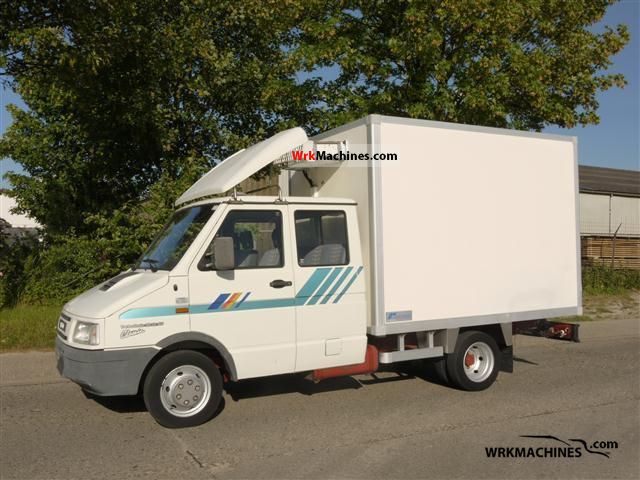 1998 IVECO Daily I 35-12 Van or truck up to 7.5t Refrigerator body photo