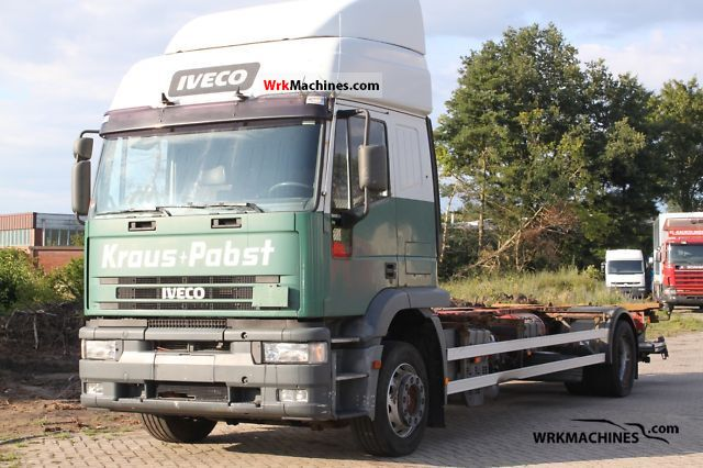 1998 IVECO EuroTech MP 190 E 34 Truck over 7.5t Swap chassis photo