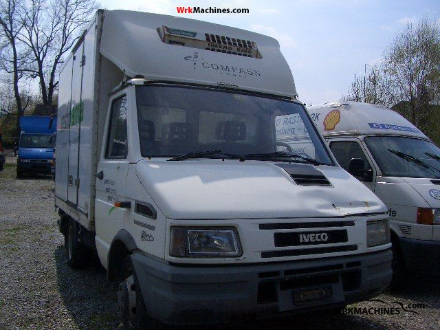 1997 IVECO Daily I 35-10 Van or truck up to 7.5t Refrigerator body photo