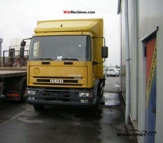 2002 IVECO EuroCargo 130 E 28 tector Truck over 7.5t Box photo