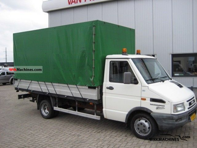 1997 IVECO Daily I 35-10 Van or truck up to 7.5t Stake body and tarpaulin photo