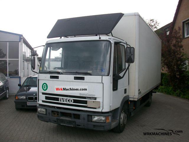 2002 IVECO EuroCargo 75 E 17 Truck over 7.5t Box photo