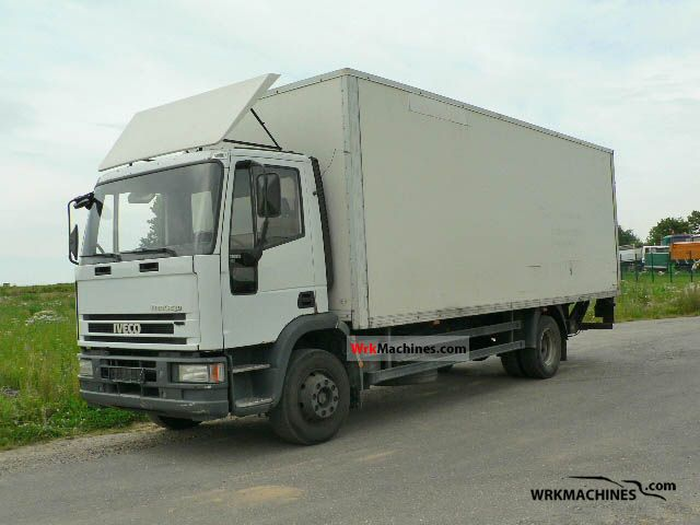 1998 IVECO EuroCargo 130 E 18 K Truck over 7.5t Box photo