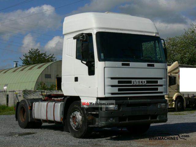 1998 IVECO EuroStar 440 E 47 Semi-trailer truck Standard tractor/trailer unit photo