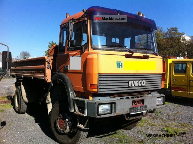 1993 IVECO P/PA 180-25 Truck over 7.5t Tipper photo