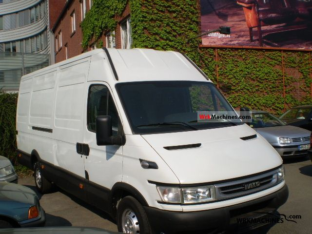 2006 IVECO Daily II 35 S 13 Van or truck up to 7.5t Box-type delivery van - high and long photo