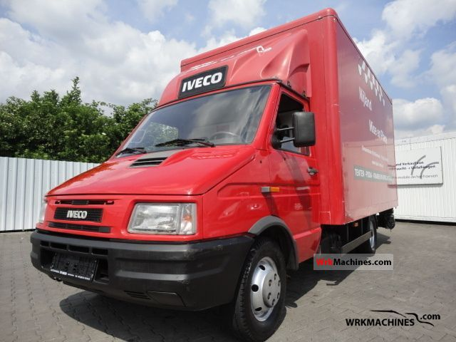 iveco daily i 35 10 1997 box photos and info. Black Bedroom Furniture Sets. Home Design Ideas