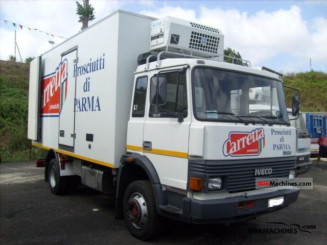 1988 IVECO M 115-17 Truck over 7.5t Refrigerator body photo
