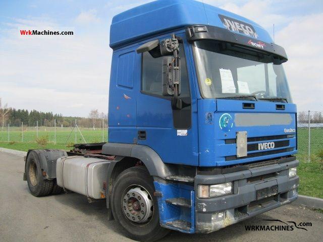 2000 IVECO EuroStar 440 E 43 Semi-trailer truck Standard tractor/trailer unit photo