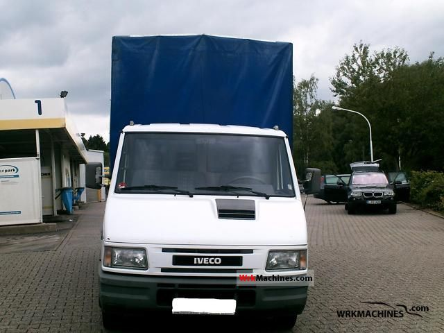1999 IVECO Daily I 35-8 Van or truck up to 7.5t Stake body and tarpaulin photo