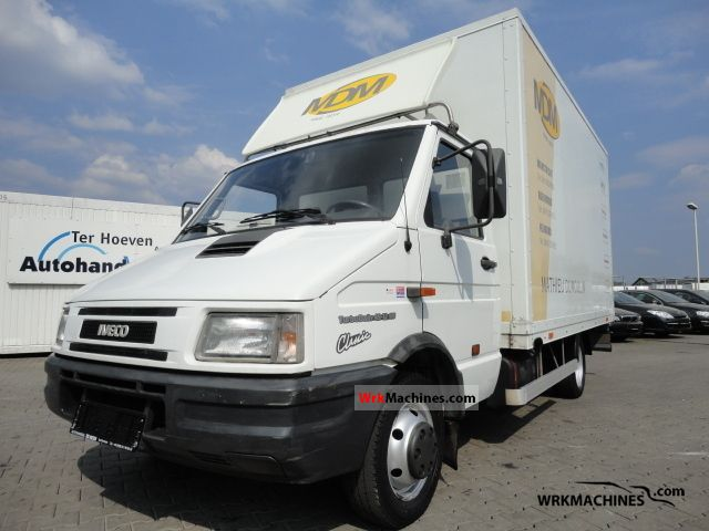 1999 IVECO Daily I 35-12 Van or truck up to 7.5t Box photo