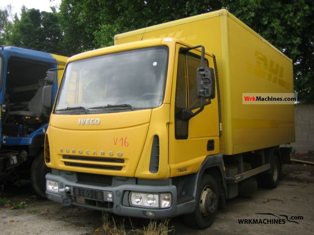 2003 IVECO EuroCargo 75 E 15 Van or truck up to 7.5t Box photo