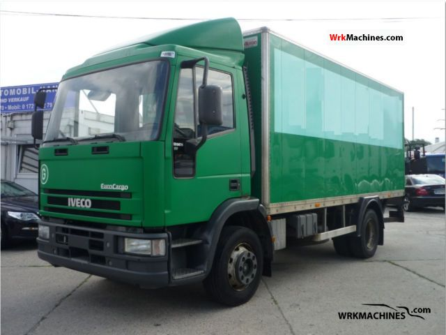 1998 IVECO EuroCargo 120 E 15 Truck over 7.5t Box photo