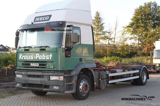 1999 IVECO EuroStar 190 E 38 Truck over 7.5t Swap chassis photo