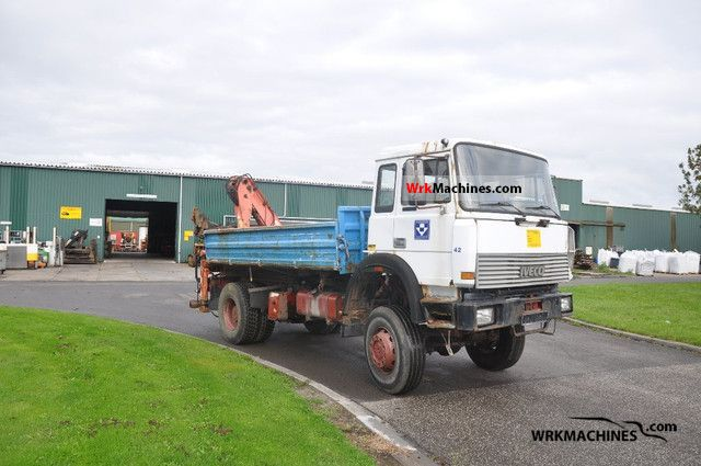 1992 IVECO P/PA 180-23 Truck over 7.5t Tipper photo