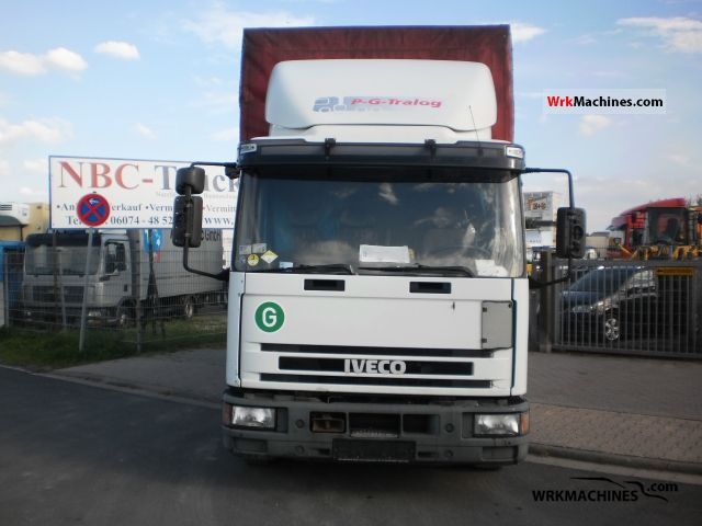 2001 IVECO EuroCargo 80 E 21 Truck over 7.5t Stake body and tarpaulin photo
