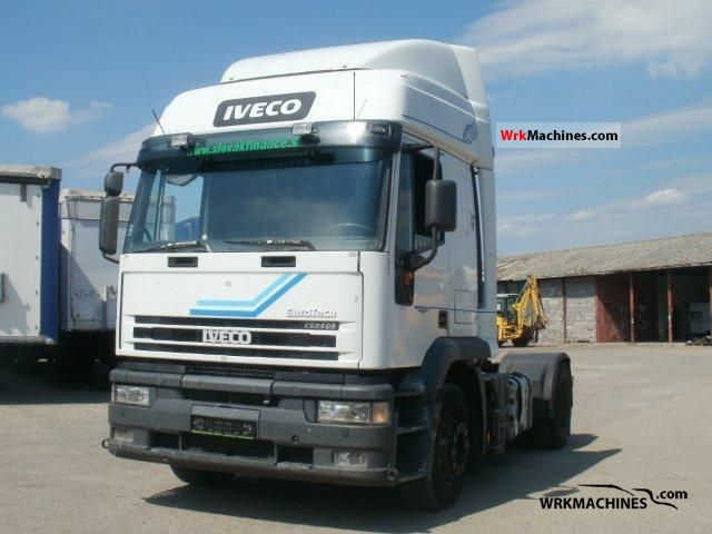 2002 IVECO EuroStar 440 Semi-trailer truck Standard tractor/trailer unit photo