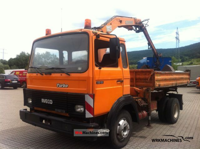 1986 IVECO MK 80-13 Van or truck up to 7.5t Tipper photo