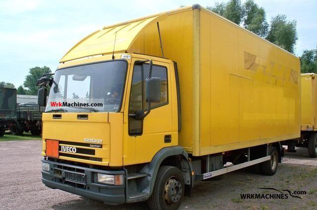 2002 IVECO EuroCargo 120 E 24 Truck over 7.5t Box photo