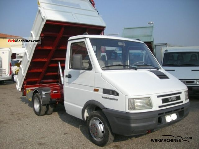 iveco daily i 35 10 c 1993 dumper truck photos and info. Black Bedroom Furniture Sets. Home Design Ideas