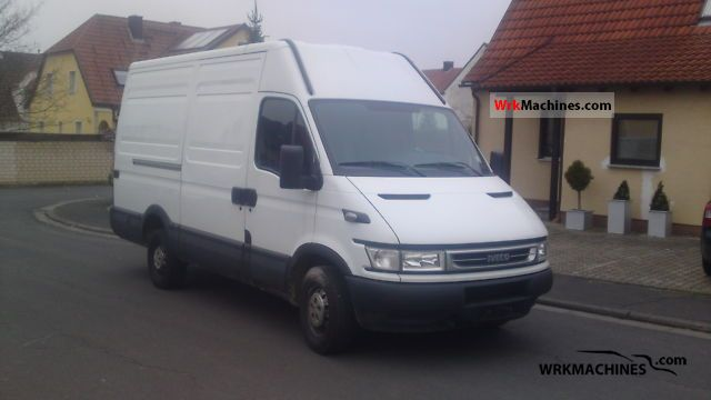 2006 IVECO Daily II 29 L 13 Van or truck up to 7.5t Box-type delivery van - high and long photo