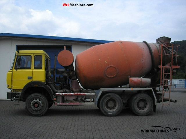1992 IVECO P/PA 260-25 AH Truck over 7.5t Cement mixer photo