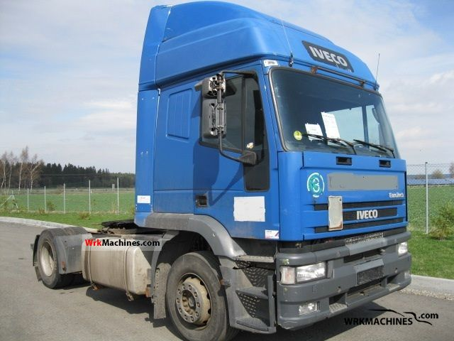 2002 IVECO EuroStar 440 E 43 Semi-trailer truck Standard tractor/trailer unit photo