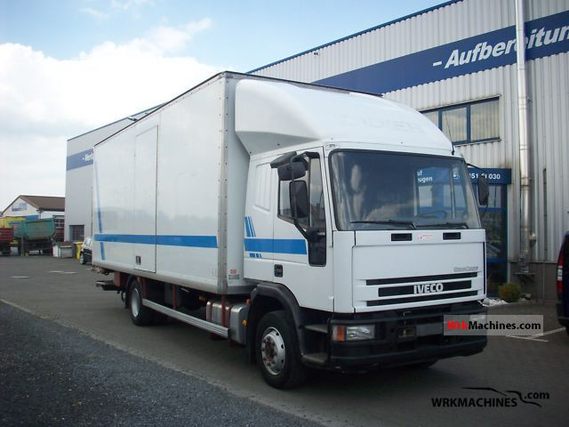 2000 IVECO EuroCargo 120 E 18 Truck over 7.5t Box photo