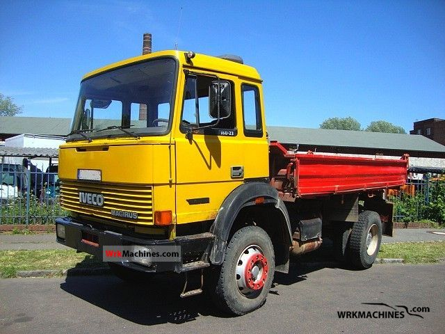 1988 IVECO P/PA 160-23 AH Truck over 7.5t Tipper photo