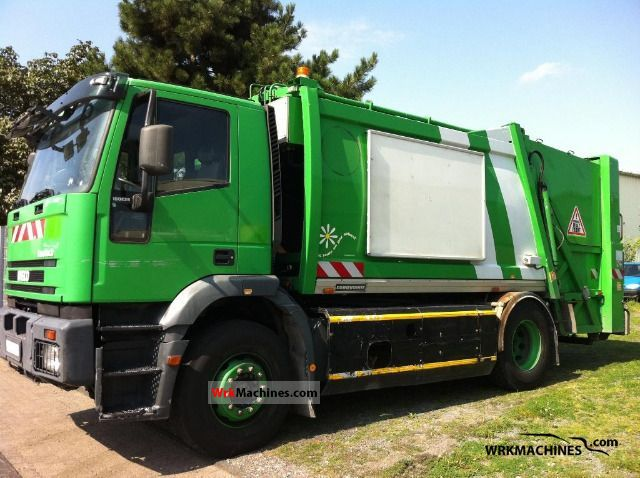 2002 IVECO EuroTrakker 190 Truck over 7.5t Refuse truck photo