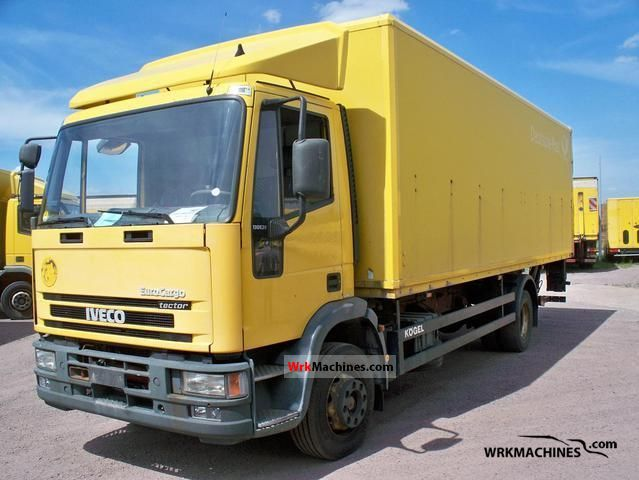 2002 IVECO EuroCargo 120 E 28 Truck over 7.5t Box photo