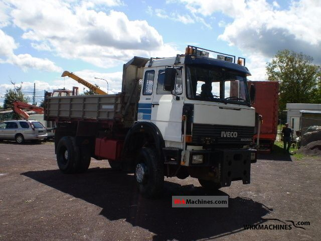 1984 IVECO P/PA 190-25 Truck over 7.5t Three-sided Tipper photo
