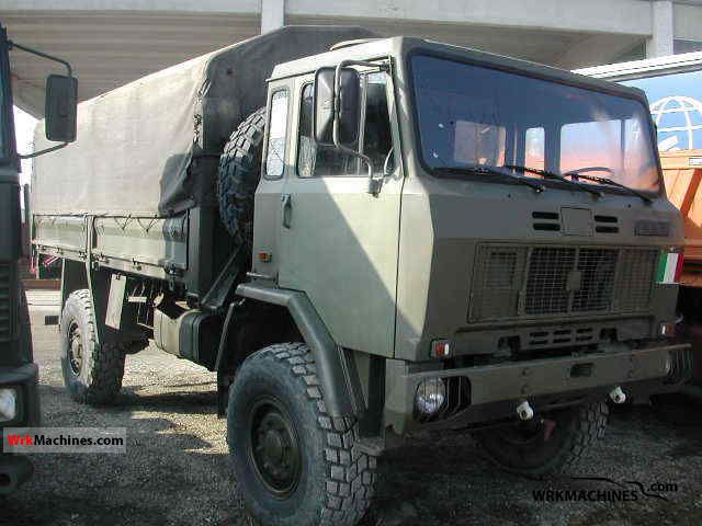 1988 IVECO MK 80-16 Truck over 7.5t Stake body photo