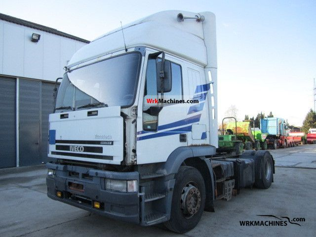 1999 IVECO EuroStar 440 E 42 Semi-trailer truck Standard tractor/trailer unit photo