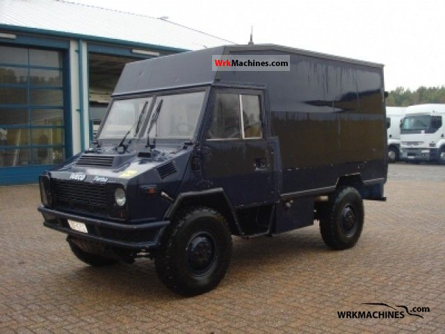 1992 IVECO Daily I 40-10 Van or truck up to 7.5t Box-type delivery van photo
