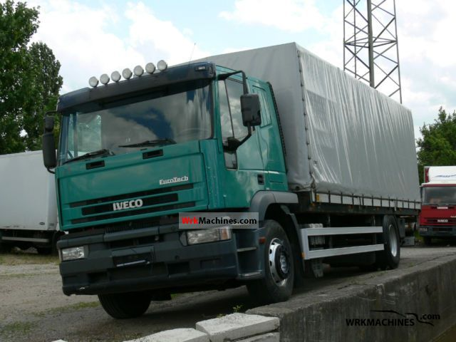 1999 IVECO EuroTech MH 190 E 35 Truck over 7.5t Stake body and tarpaulin photo