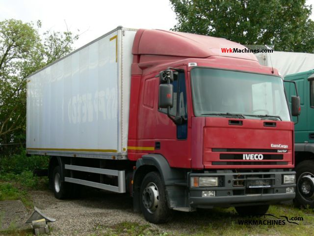 2002 IVECO EuroCargo 150 E 24 Truck over 7.5t Box photo
