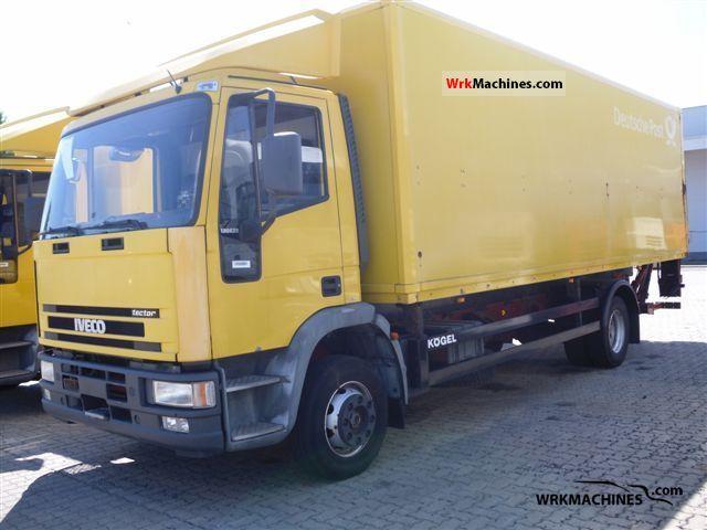 2002 IVECO EuroCargo 130 E 28 Truck over 7.5t Box photo