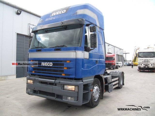 1998 IVECO EuroStar 440 E 42 Semi-trailer truck Standard tractor/trailer unit photo