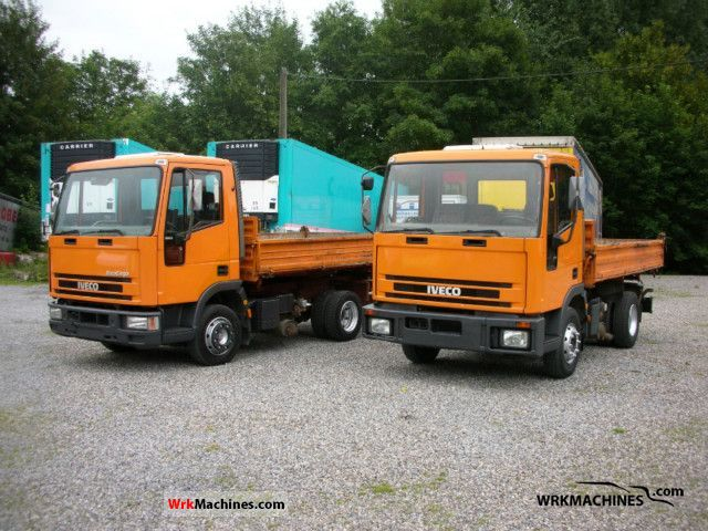 1994 IVECO EuroCargo 80 E 15 K Van or truck up to 7.5t Tipper photo