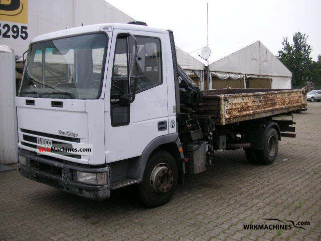 1992 IVECO EuroCargo 100 E 15 K Truck over 7.5t Tipper photo